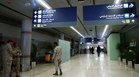 Saudi Arabia coronavirus, coronavirus outbreak, coronavirus cases in Saudi Arabia, Saudi Arabia cancels flights, Saudi Arabia cancels international flights, World news, Indian Express