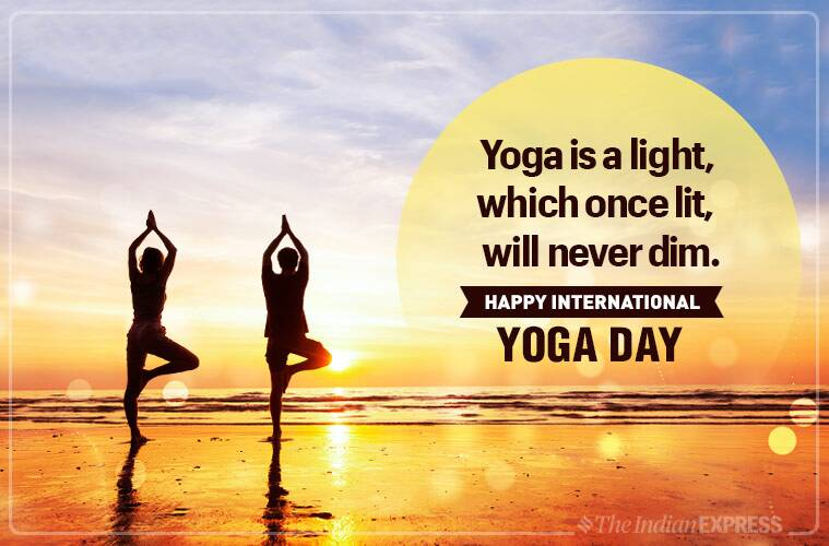Happy International Yoga Day 2019 Wishes Images Quotes Status Messages Hd Wallpapers Sms Photos Gif Pics And Greetings Card