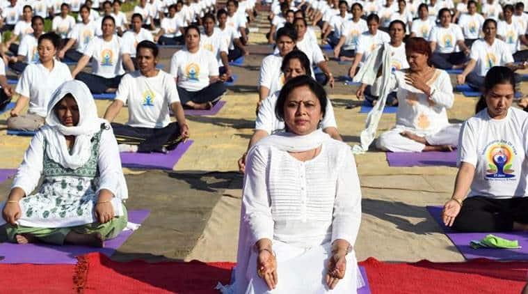 When is international yoga day narendra modi yoga asanas