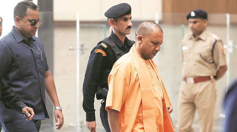 yogi adityanath, uttar pradesh chief minister, up chief minister yogi adityanath, up cm, gorakhpur sdm, gorakhppur sdm transferred, india news, Indian Express