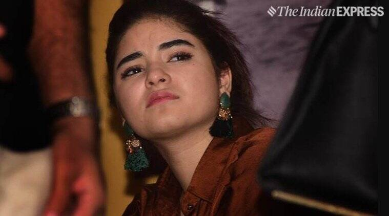 Secret Superstar actress Zaira Wasim quits acting, says 'I don't belong here'