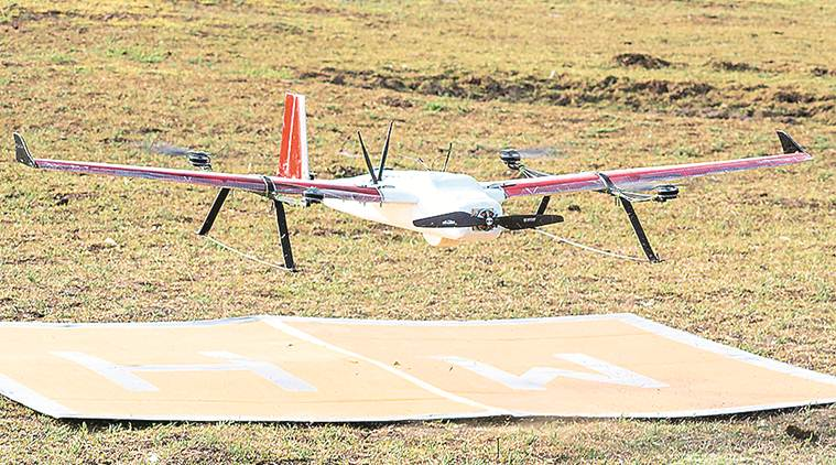 Zomato, Zomato drone delivery, drone delivery, Zomato delivery using drone, Indian express