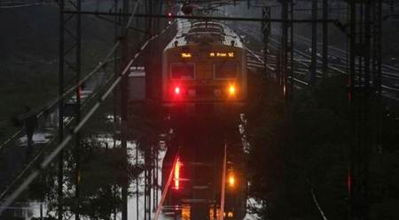 Mumbai rains: Week after 16-hour suspension, local services on CR on track despite rain