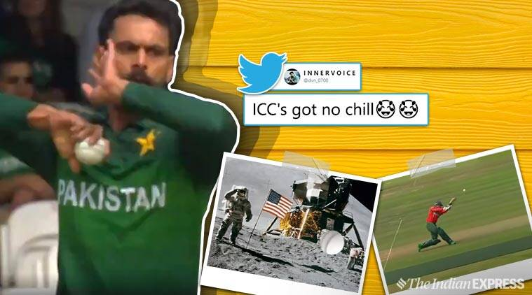 ICC's 'funny' take on Mohammad Hafeez's loopy full toss has
