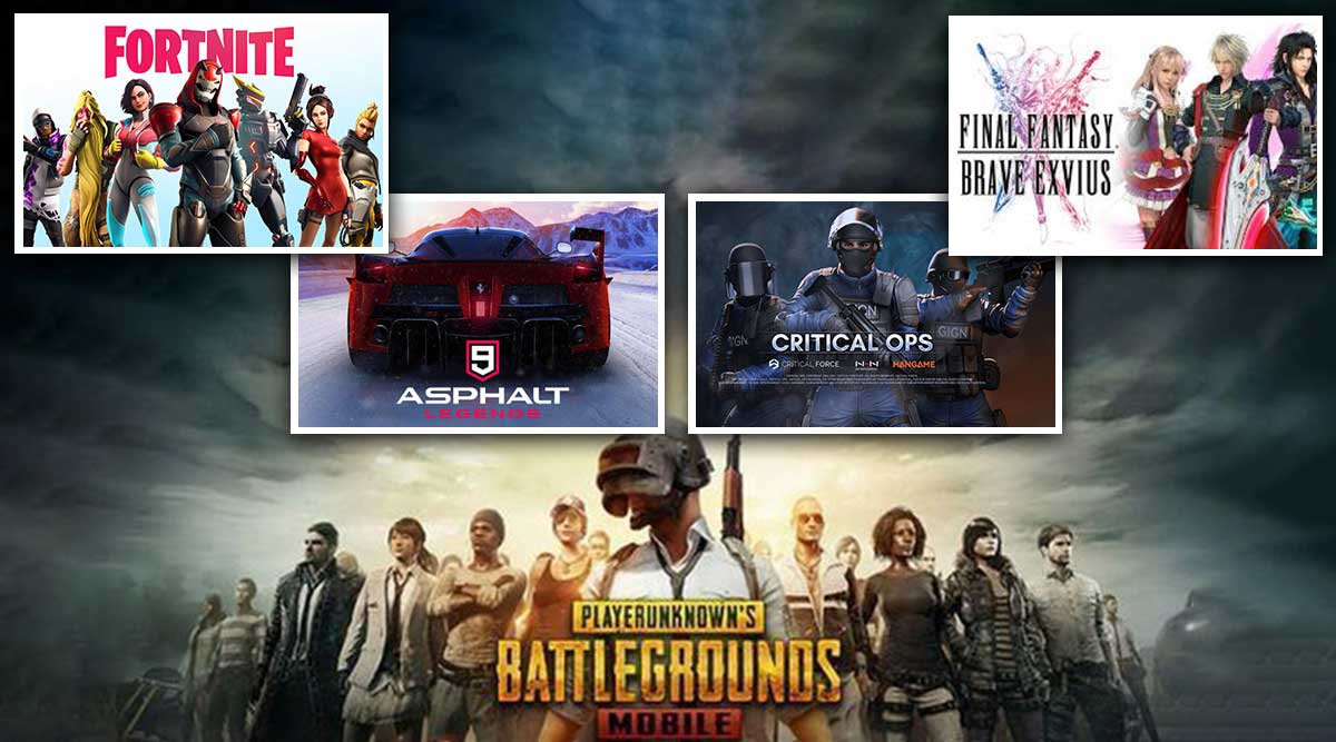 Best Ios Android Games To Play In July 2019 Pubg Mobile Asphalt 9 Fortnite Critical Ops And Final Fantasy Brave Exvius