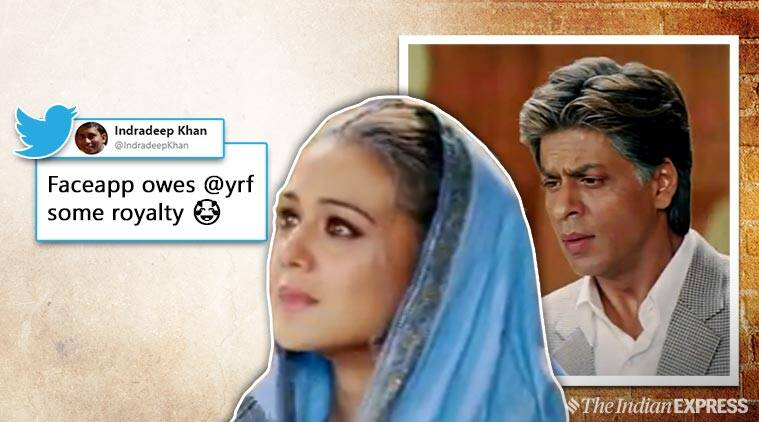 YRF's tweet on FaceApp filter leaves Bollywood buffs in