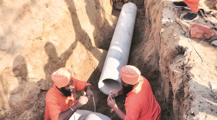 Khanna: Two laborers die while installing sewage lines; one serious; were working sans safety kits