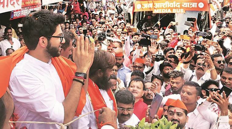 aaditya thackeray, aaditya thackeray interview, aaditya thackeray interview indian express, shiv sena, shiv sena aaditya thackeray, aaditya thackeray yuva sena, maharashtra assembly elections, india news, Indian Express