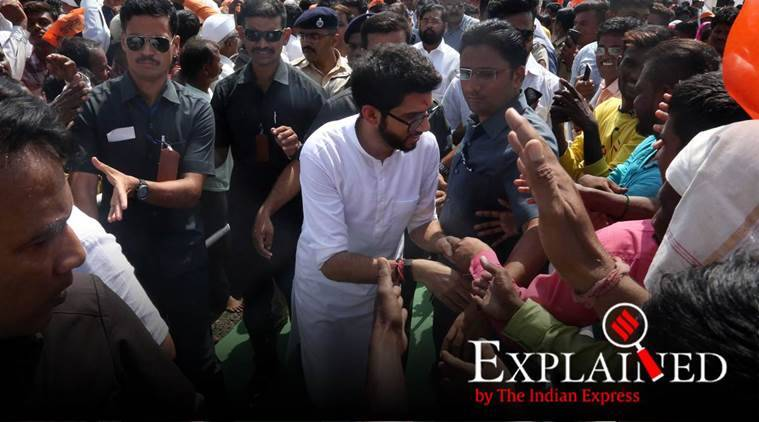 aaditya thackeray, Jan Ashirwad Yatra, shiv sena, bjp, explained news, news explained, today explained, explained today
