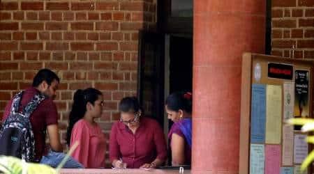 DU cutoff, NCWEB 5th cutoff, delhi university admissions 2019, 70% marks DU college seats, du.ac.in, university of delhi news, education news