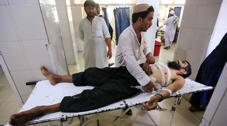 afghanistan news, afghanistan suicide bombing, afghanistan suicide bombing deaths, afghanistan bomb attack, suicide bombing, afghanistan wedding suicide bombing, taliban attack, is attack, Pachirwa Agham, Nangarhar province, world news, indian express