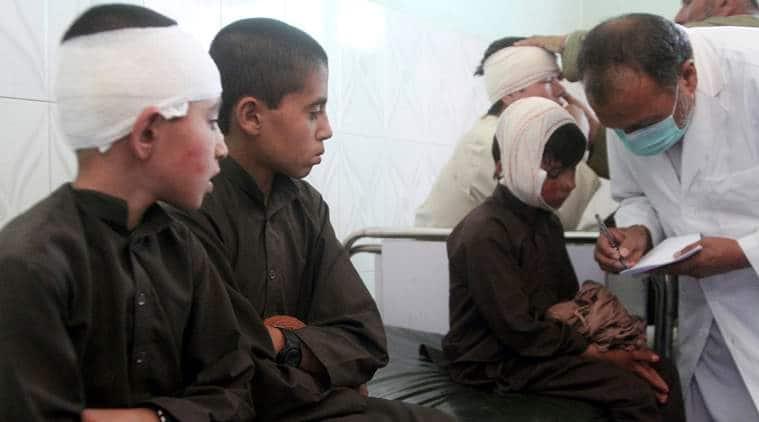 Afghanistan, Taliban, Taliban attack Afghanistan, Afghanistan Taliban, Taliban bomb blast, NDS Ghazni blast, Indian Express, latest news