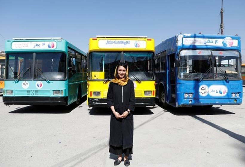 mobile library, mobile bus library, library in bus, kabul mobile bus library, afghanistan bus library, library-on-wheels, library-on-wheels kabul, library-on-wheels afghanistan, world news, indian express
