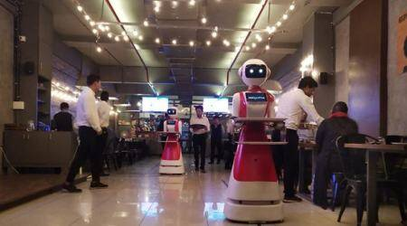 This Ahmedabad-based restaurant has robots to serve food