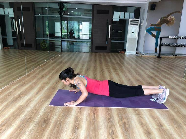 fitness goals, fitness exercise, exercise for toned arms, indian express, indian express fitness