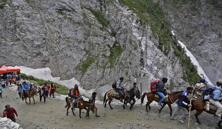 amarnath yatra, amarnath yatra this year, coronavirus, coronavirus lockdown, coronavirus latest updates, coronavirus kashmir news, indian express