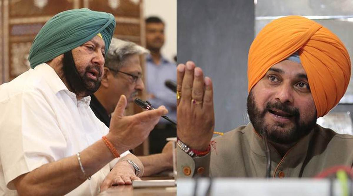 Amarinder singh, navjot Singh Sidhu, Punjab, Congress, Sidhu resignation letter, Amarinder singh accepts Sidhu resignation, Punjab news, India news, Indian express