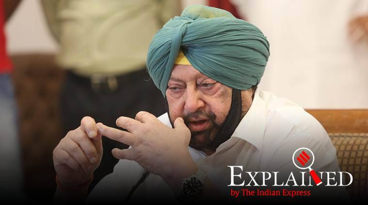 amarinder singh, capt amarinder singh, punjab chief minister, punjab security cover, indian government, government of india, india news, Indian Express