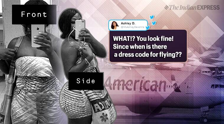 American Airlines, American Airlines apologises, passenger cover up tweet, woman passenger, black passenger, twitter reactions, discrimination, racism, trending, indian express, indian express news