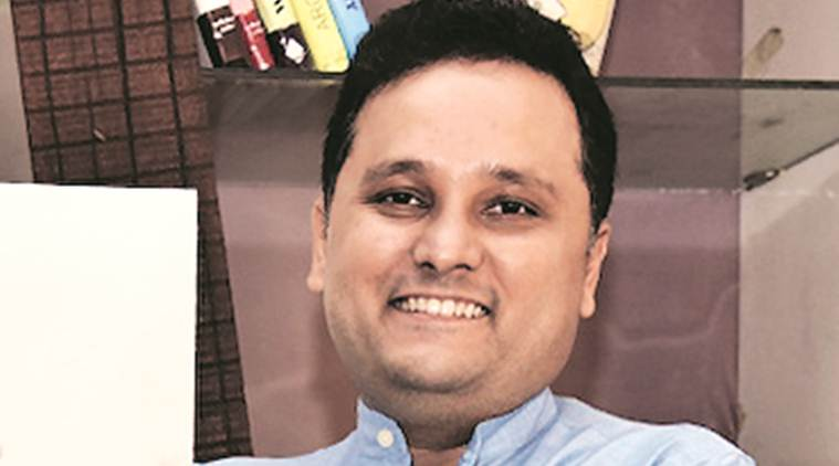 Amish Tripathi, Amish Tripathi at express adda, writer Amish Tripathi at expres adda, writer Amish Tripathi, indian express news,