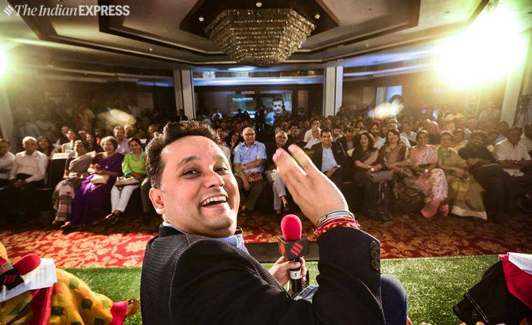 amish tripathi, express adda, author amish tripathi, amish tripathi at express adda, amish public debate, amish tripathi extremists, india news, indian express