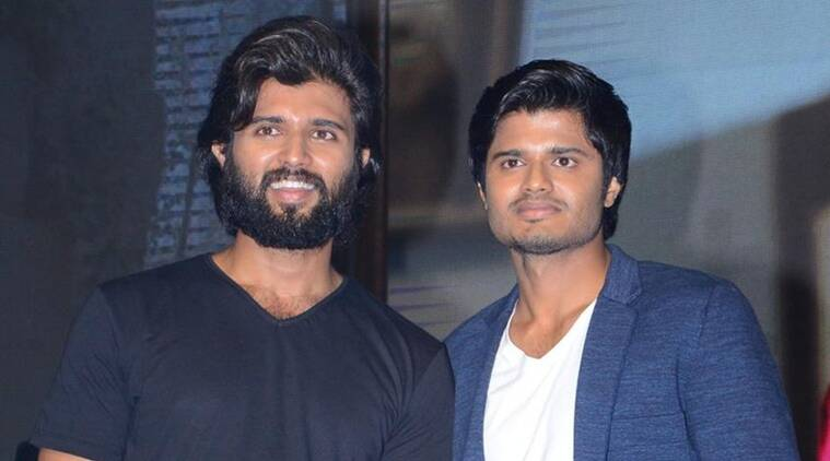 Vijay Deverakonda with brother Anand Deverakonda
