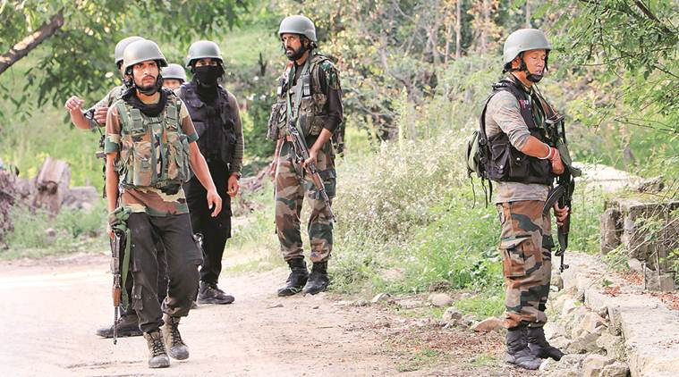 Police officer, militant killed in J&K