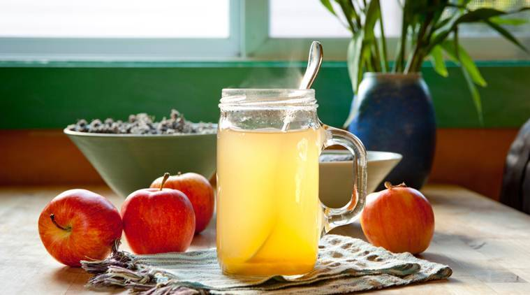 apple cider vinegar, benefits of apple cider vinegar, health benefits of apple cider vinegar, indian express