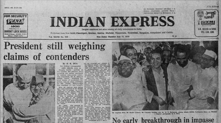 Forty Years Ago, July 17, 1979: Charan stakes claim