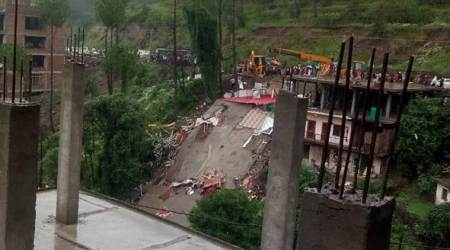 Solan building collapse: 2 days after tragedy, SIT constituted, samples picked from site