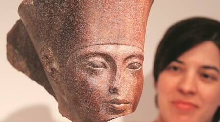 King Tutankhamun statue, King Tutankhamun statue sale, ancient artefacts  auction, Egyptian government, Egyptian relic auction, Indian Express news