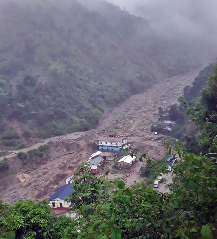 Arunachal Pradesh flash floods