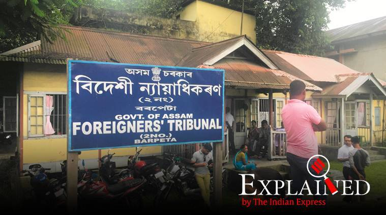 assam, assam nrc, assam nrc final list, foreigners tribunal, foreigner tribunal ex parte order, express explained, explained today, today explained