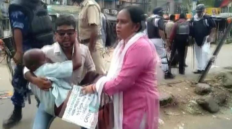 West Bengal: 16 injured as BJP workers, police clash in Asansol