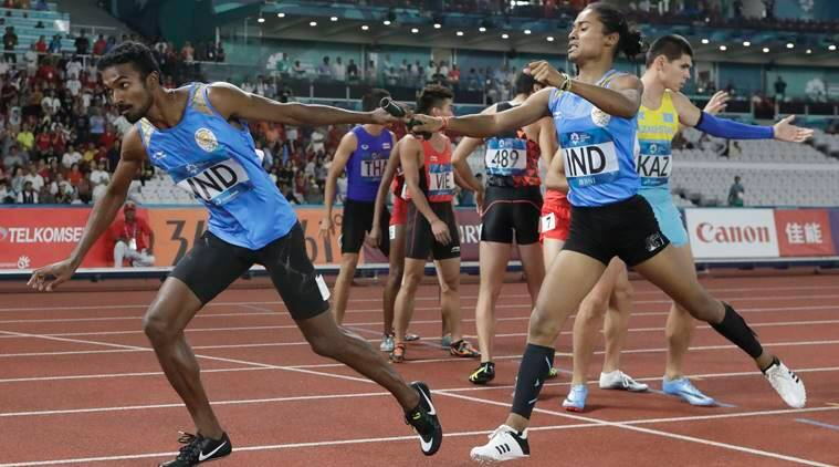 India in line for Asian Games relay gold after ban on Kemi Adekoya