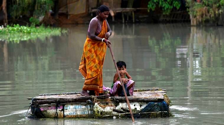 Assam: While situation deteriorates, 4.23 lakh people affected by floods