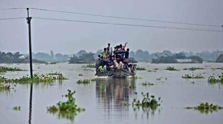 Assam floods, Kerala floods, Himanta Biswa Sarma, Disaster Management Act (DMA) 2005, DMA 2005, Express Editorial, Indian Express