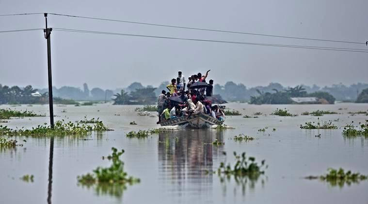 China first to share satellite data with India on floods in Assam