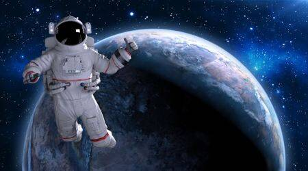 astronaut, astronaut exercising, exercising in space, blood pressure, indian express, indian express news