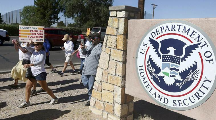 Indian asylum seekers, on hunger strike at Texas detention