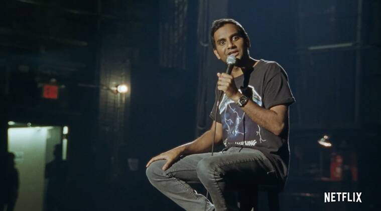 Aziz Ansari Right Now: Tricky year, Tricky laughs