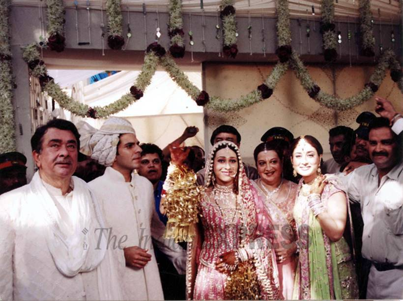 karisma kapoor, karisma kapoor wedding, bollywood wedding, indian express, indian express news