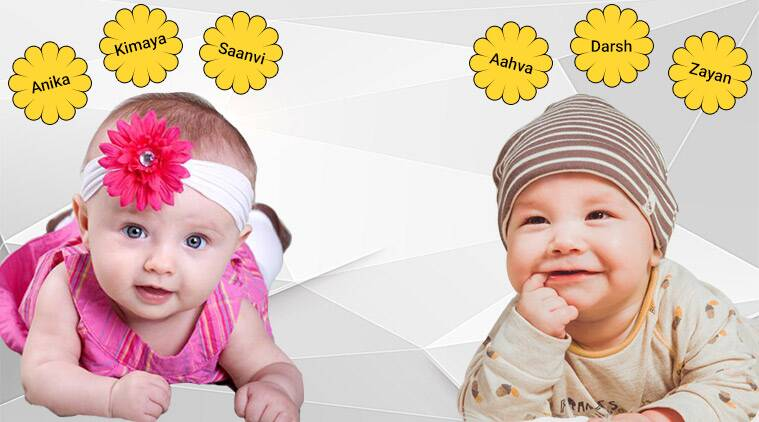 100 Popular Baby Boy And Baby Girl Names Of 2019