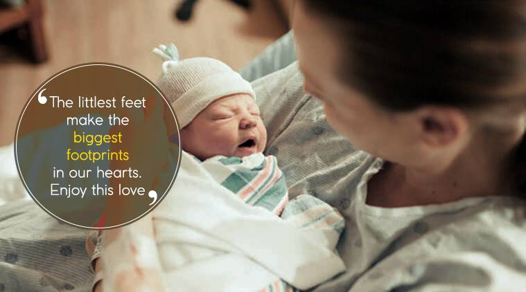 New Born Baby Wishes Images Quotes Status Messages