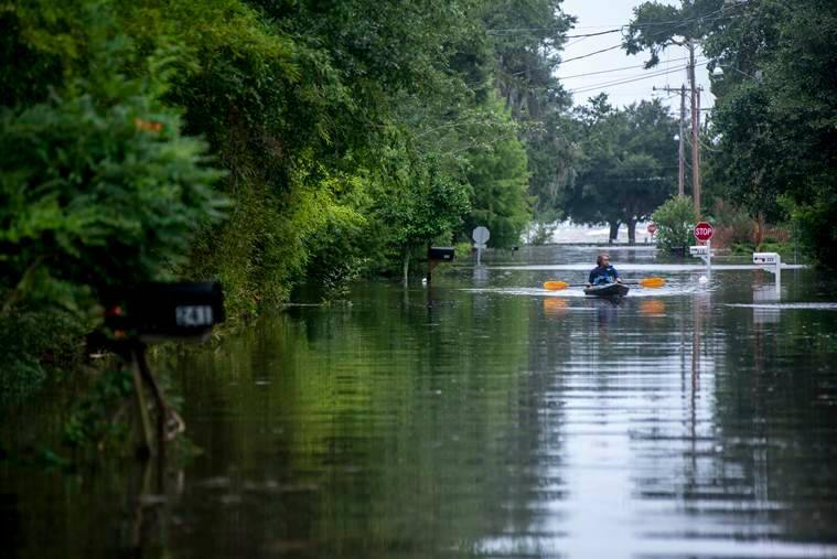 hurricane barry, tropical storm, new orleans, inland cities, storm, new orleans weather, new orleans hurricane, indian express
