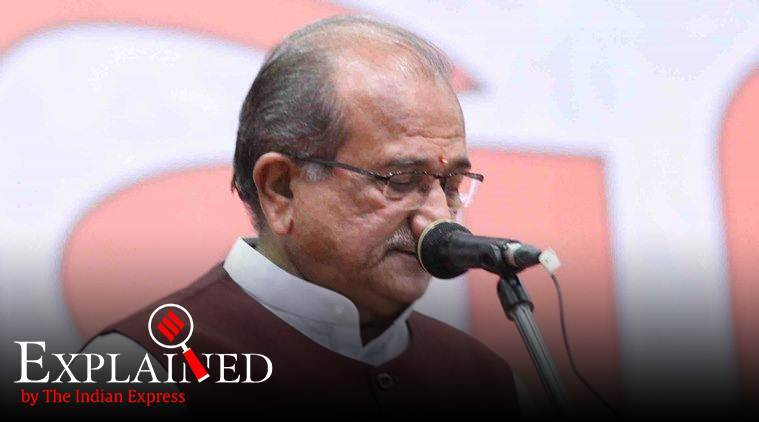 Disturbed Areas Act, gujarat Disturbed Areas Act, Bhupendrasinh Chudasama, gujarat minister Bhupendrasinh Chudasama, gujarat assembly passes Disturbed Areas Act , what is Disturbed Areas Act . Disturbed Areas Act explained