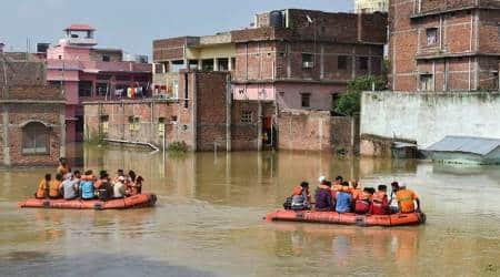 weather, india, monsoon, monsoon in india, floods, bihar floods, assam floods, imd, imd weather forecast, rain, imd rain forecast, indian express news