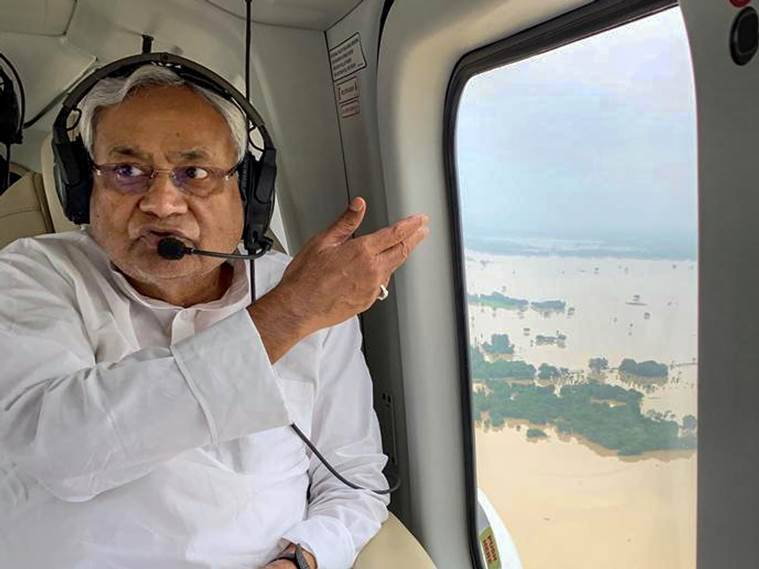 Bihar, Bihar floods, Bihar flood deaths, Bihar news, Champaran flood, Nitish Kumar, Bihar CM, NDRF, SDRF, Flood, Sitamarhi, Muzaffarpur, India news, Indian Express