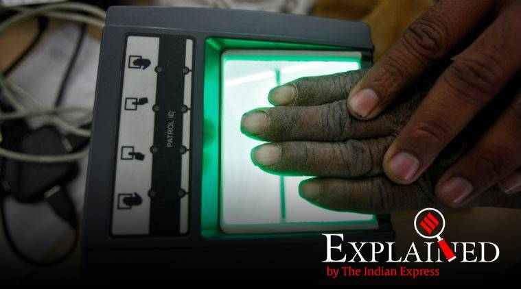 Automated Multi-modal Biometric Identification System, finger prints, iris, finger print scan, iris scan, fighting crimes, express explained, indian express