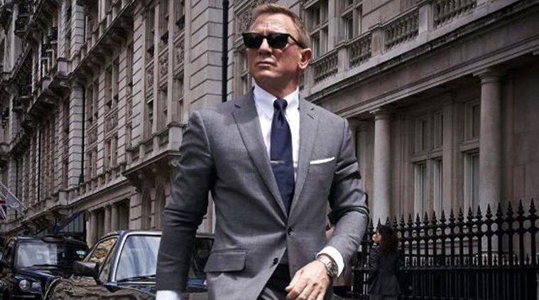 Daniel Craig back in action on 'Bond 25' sets
